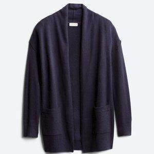 RD Style Homra Pocket Cardigan, Navy, Size L